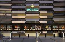 Luxury Timepiece Boutiques - The Dubai Rolex Store Offers Up a Premium Shopping Experience