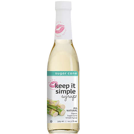 Extra-Rich Cocktail Syrups - Keep it Simple Syrup's Sugar Cane KISS Has a Thick Consistency