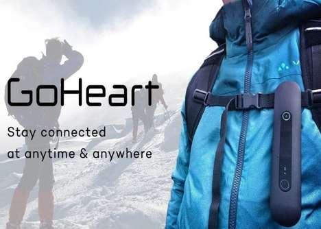 Emergency GPS Traveler Devices - The 'GoHeart' Keeps Travelers Connected When Exploring Rural Areas