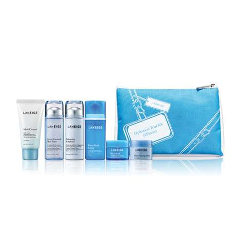 All-Encompassing Hydration Kits - Laneige's Hydration Trial Kit is Ideal for Travel