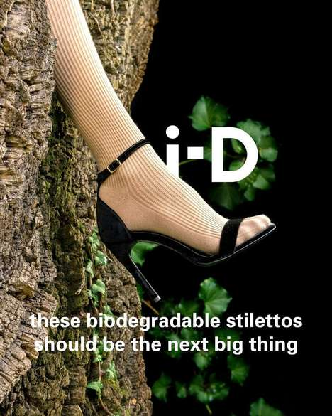 Biodegradable Vegan Stilettos - Sydney Brown is Launching a Pair of Environmentally Friendly Heels
