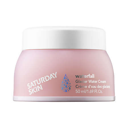 Mineral-Rich Face Creams - The Waterfall Glacier Cream by Saturday Skin is Deeply Hydrating