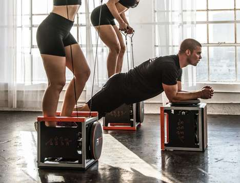 Compact Cubic Workout Gyms