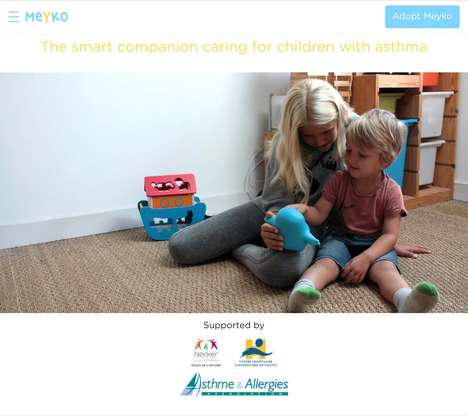 Friendly Medication Reminder Toys - 'MEYKO' Ensures Kids Take Their Medication on a Set Schedule