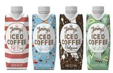 Reduced Sugar Prepackaged Coffees - The New Jimmy's Iced Coffee Contains Less Sugar Than Ever
