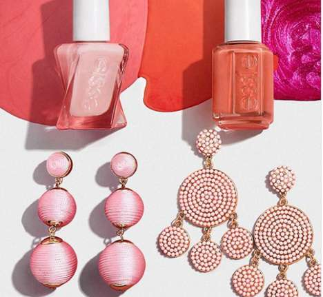 Manicure-Matching Jewelry - Essie and Baublebbar Released a Line of Jewelry and Matching Nail Polish