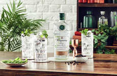 Herbaceous Savory Gins - Diageo's Tanqueray Lovage is the First Gin Created with the Herb