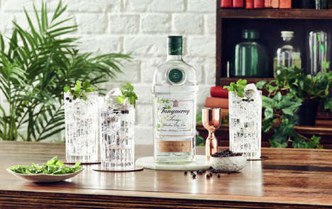 Herbaceous Savory Gins
