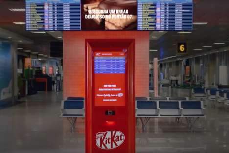 Delayed Flight Vending Machines