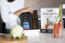 DIY Fermented Vegetable Kits - The Masontops Complete Mason Jar Fermentation Kit is Easy to Use
