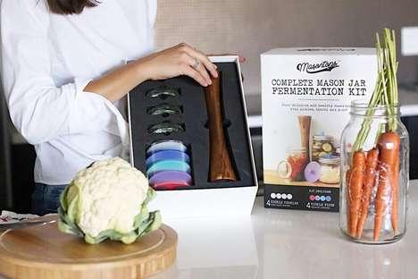 DIY Fermented Vegetable Kits