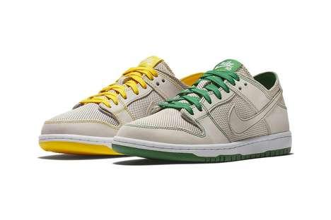 Mismatching Tonal Sneakers