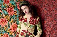 Botanical Couture Editorials