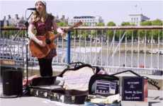Contactless Busker Payments - London Recently Introduced a New System for Paying Buskers