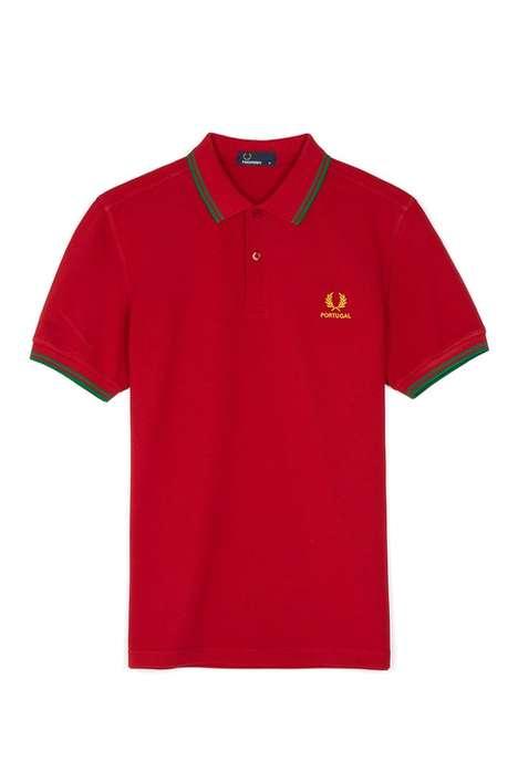 Country-Representative Polo Shirts
