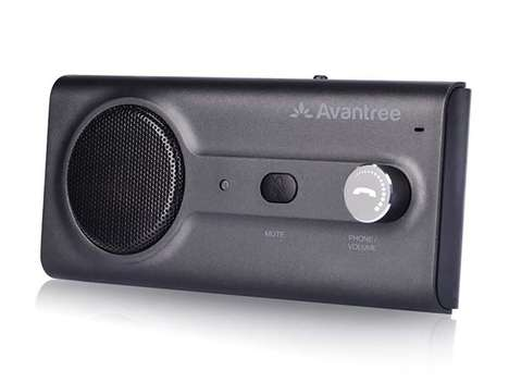 Aftermarket Assistant Car Accessories - The Avantree Bluetooth Visor Car Kit is Siri Compatible