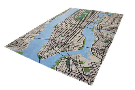 Topographical NYC Rugs