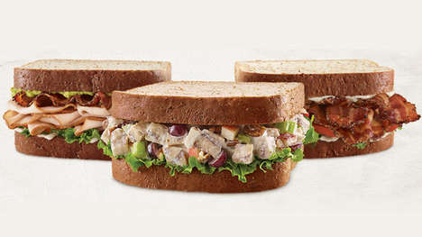 Market Fresh Sandwich Offerings - Arby's Has Added Three Fresh Offerings to Its Summer Menu