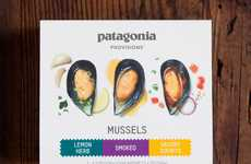 Sustainable Mussel Snacks - Patagonia Provisions Now Sells Responsibly Sourced Canned Mussels