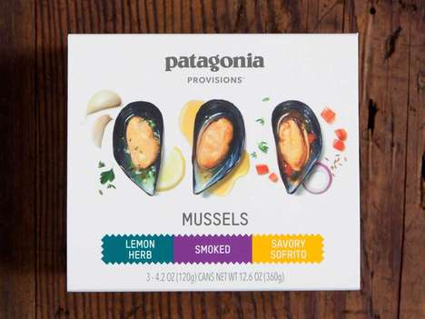 Sustainable Mussel Snacks