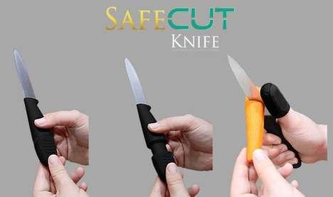 Thumb-Protecting Knives