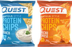Protein-Rich Tortilla Chips