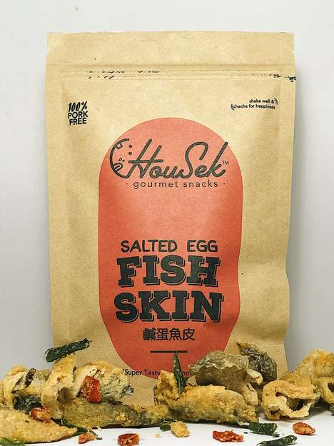 Gourmet Fish Skin Snacks