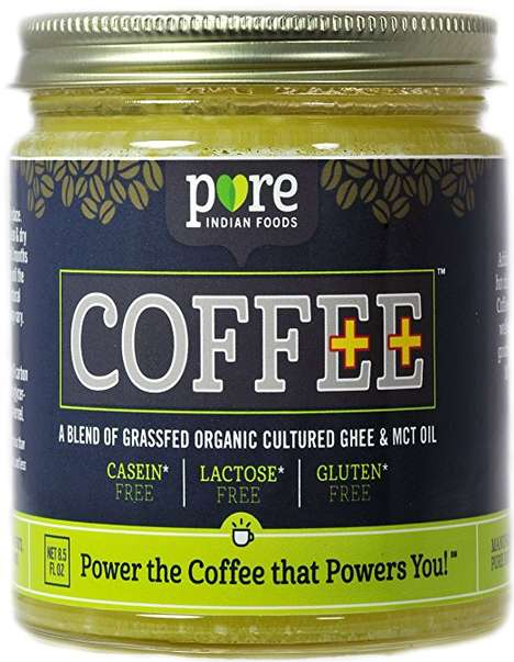 Butter-Based Creamer Alternatives - This Paleo Butter Coffee Creamer Boasts Organic Ghee Ingredients