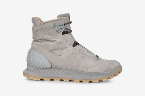 Futuristic Leather Hiking Boots