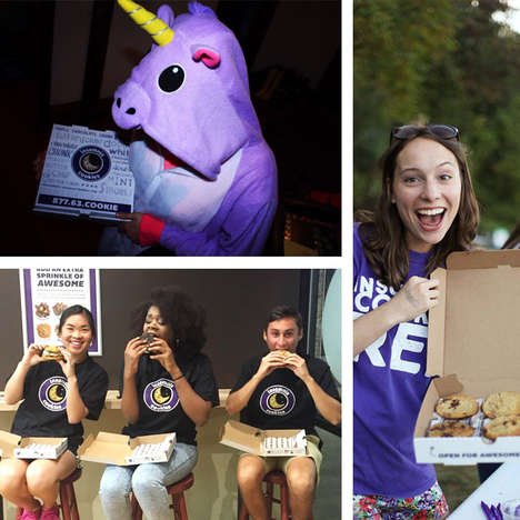 On-Campus Cookie Giveaways - Insomnia Cookies' Student Events Feature Campus Marketing Reps
