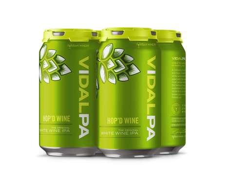 Hop-Infused Wine Six-Packs