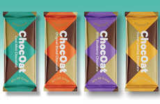 Oat-Based Chocolate Bars - ChocOats are Organic, Dairy-Free and Made with Gluten-Free Ground Oats