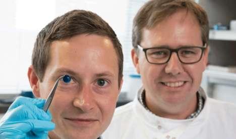 3D-Printed Human Corneas