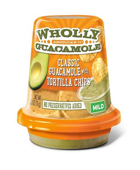 Grab-and-Go Guacamole Snacks