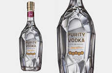 Ornate Organic Swedish Vodkas - Purity Vodka is Distilled 34 Times to Ensure Optimal Purity