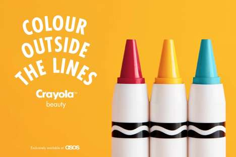 Crayon-Inspired Cosmetics