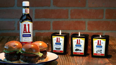 Meaty Limited-Edition Candles - The A.1. Meat Scented Candles Come in Three Delicious Scents
