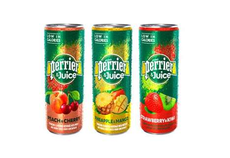 Juice-Infused Sparkling Refreshments