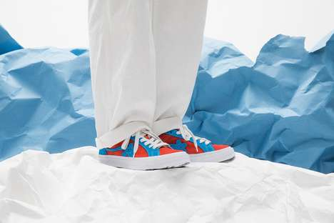 Rapper-Inspired Two-Toned Sneakers