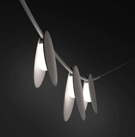 Lantern-Inspired Outdoor Lights