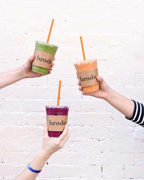 Bone Broth Smoothies - Brodo's 'Brothie' Offers a New Way to Drink Bone Broth