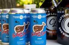 Fudge Cake-Inspired Beers - Carvel and a Brewing Company Created a Beer Based on Fudgie the Whale