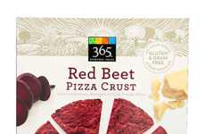 Beet-Based Pizza Crusts