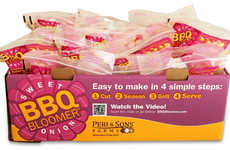 Blooming Onion Kits - Peri & Sons Farms' Sweet BBQ Bloomer is a Low-Fat Deep-Fried Onion Alternative