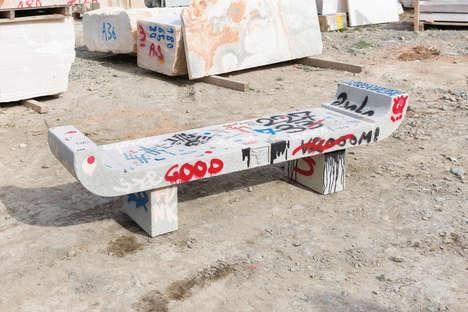 Handmade Brutalist Furniture