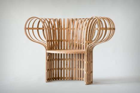 Sculpted Bamboo Seating Solutions