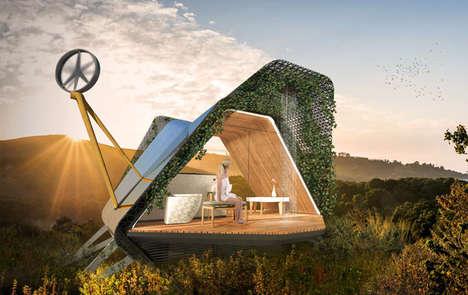 Biophilic Outdoor Living Pods