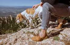 Ethical Boat Shoe Designs - The Two Degrees Silhouettes Protect Global Endangered Habitats