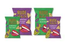 Pop Art-Branded Bean Chips - The Rude Health 'Cornitas' are a Satisfying New Snack Option