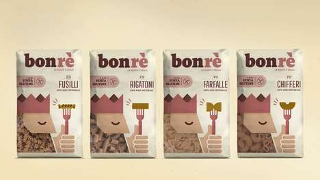 Playful Healthful Pasta Branding